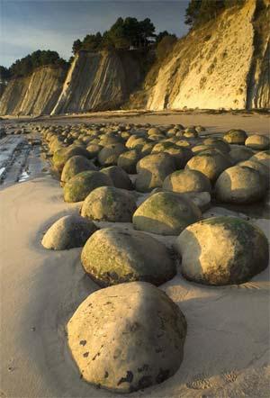 Cantos Bowling Ball Beach,  California