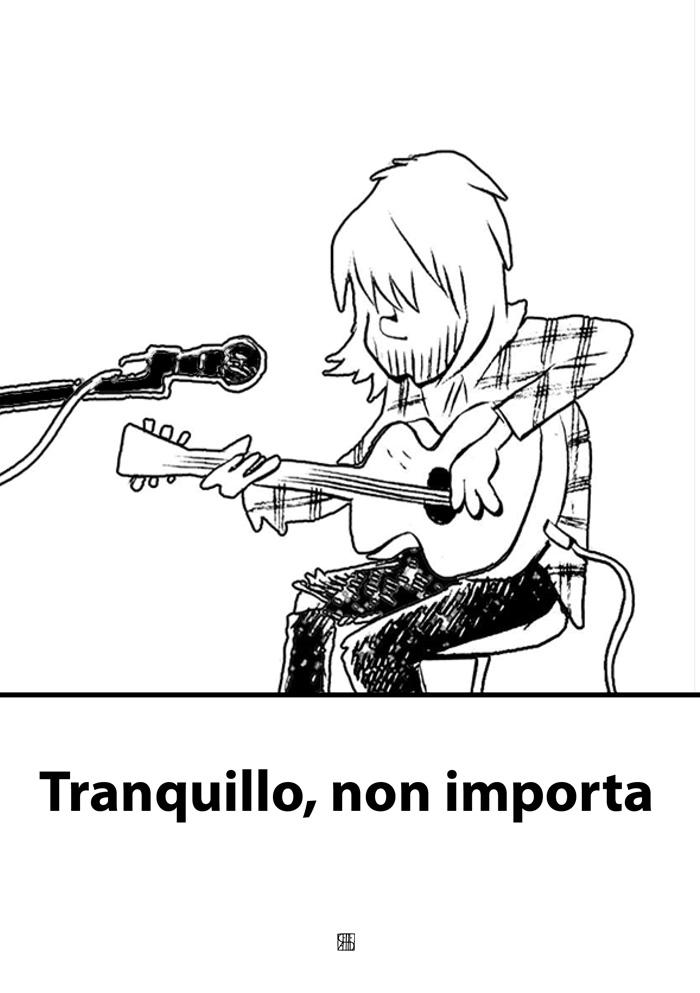 Tranquillo, non importa - a cura di Daniele Piovino - un ebook dedicato a Kurt Cobain