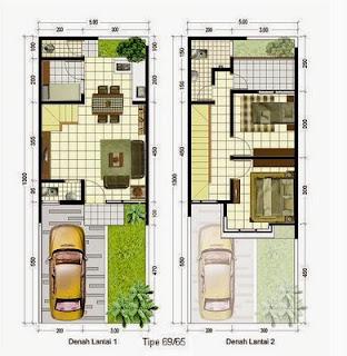 Contoh Desain Rumah Minimalis 5