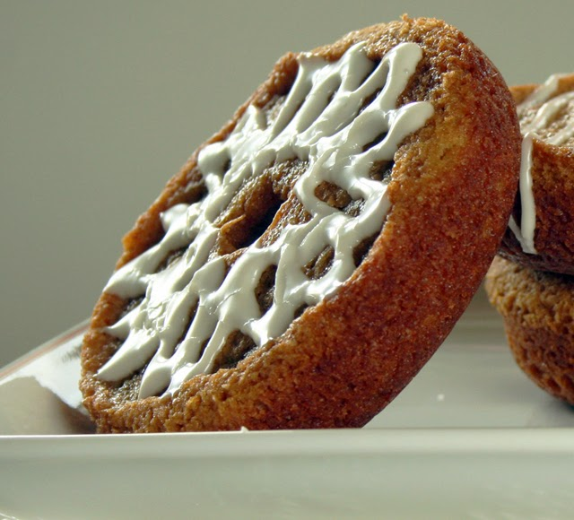 Soft Gingerbread Donuts