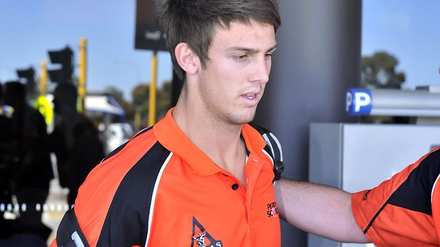 Mitchell Marsh (Cricketer) playing cricket
