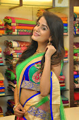 Anukruthi Glam pics in half saree-thumbnail-7