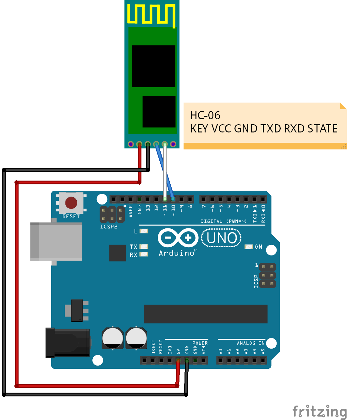 Hardware Serial to Serial Communication using Arduino Uno