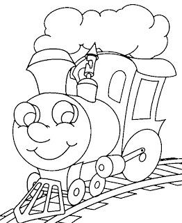 t2 Desenhos de Trenzinho para Imprimir