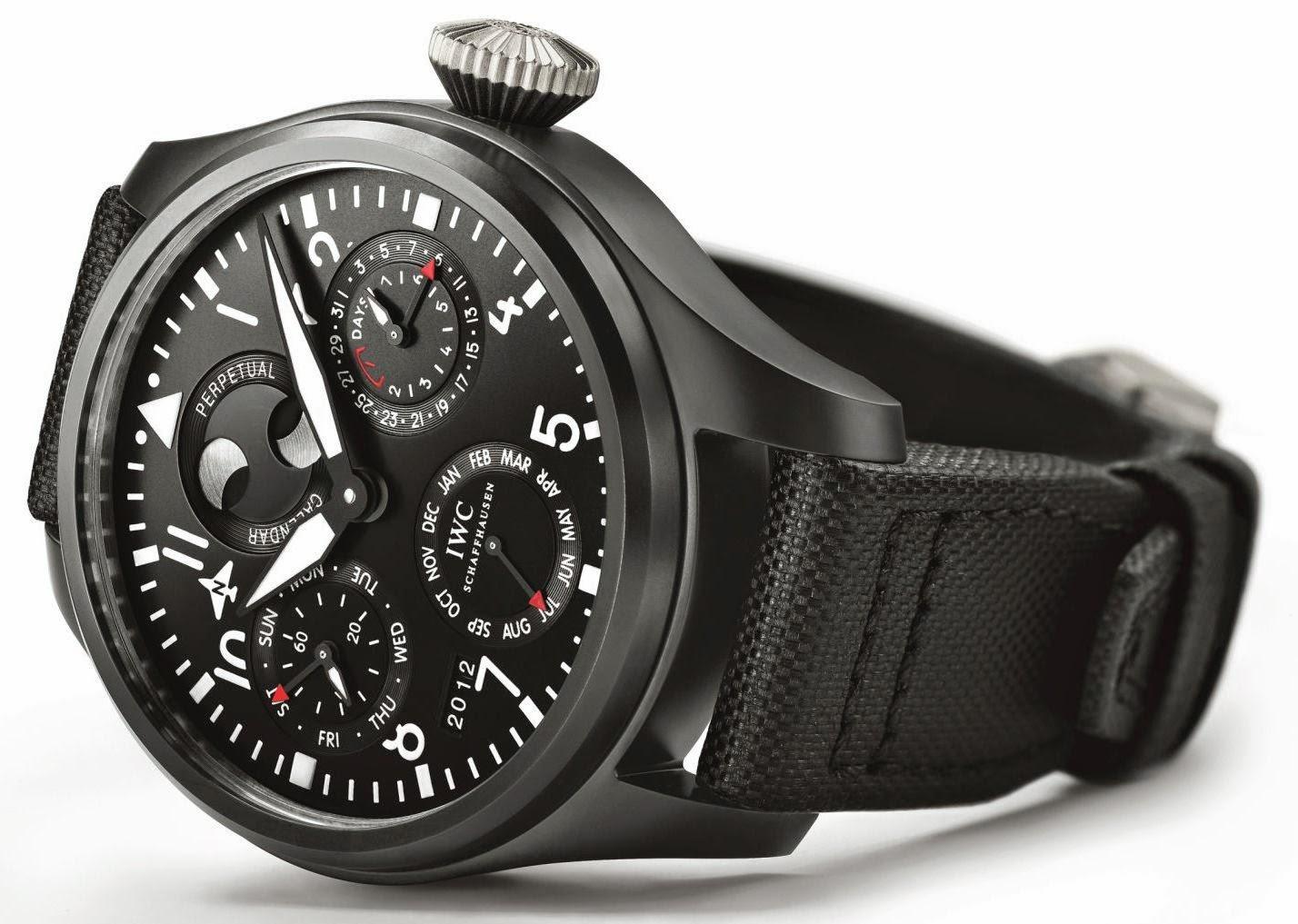 IWC Big Pilot's Watch Perpetual Calendar TOP GUN watch replica