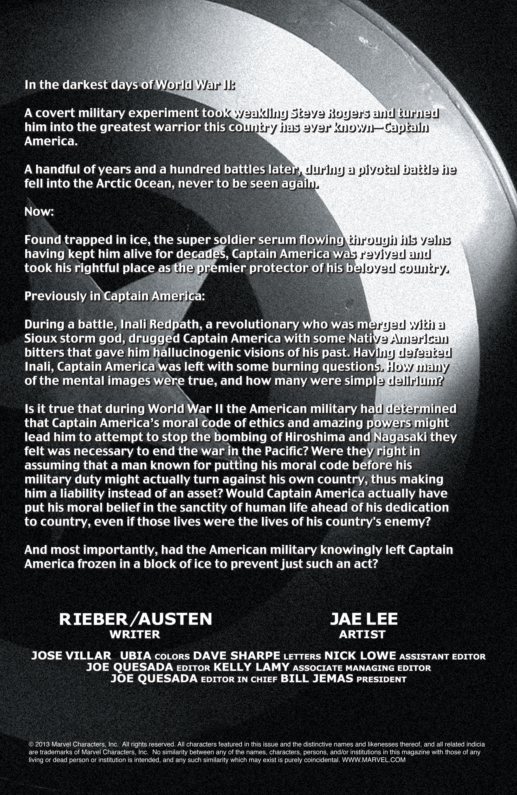 Captain America (2002) Issue #12 #13 - English 2