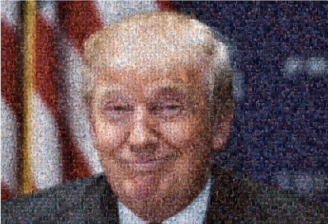 Here is a picture of Trump with 500 dick pics