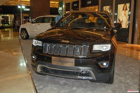 The Official Gliding, Jeep Grand Cherokee 3.0 L