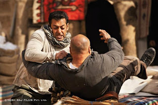 Salman and Katrina in 'Ek Tha Tiger'