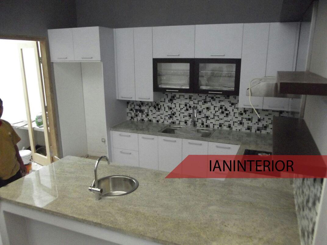 Jasa pembuatan kitchen set sidoarjo for Harga kitchen set surabaya