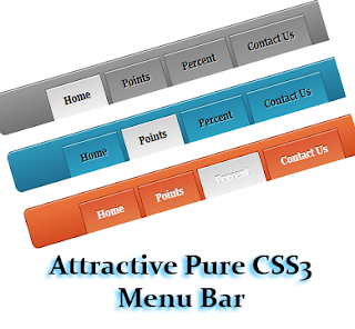 Pure+CSS3+Menu+Bar
