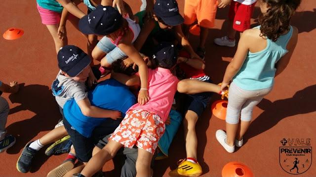 juegos infantiles escuela verano