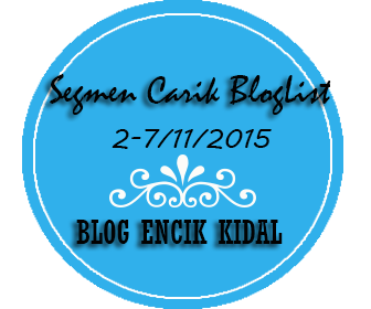 Segmen Carik Bloglist Blog Encik Kidal