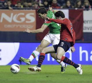 Osasuna 2 Athletic 1