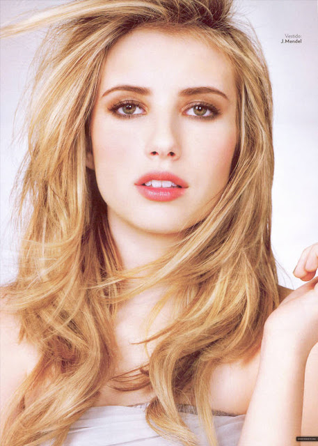 Emma Roberts Glamour Magazine Wallpapers