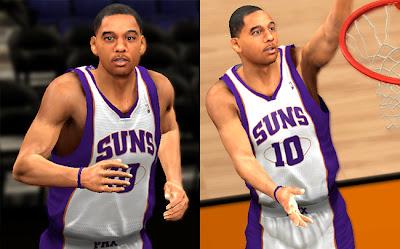NBA 2K13 Diante Garrett Cyberface Mod