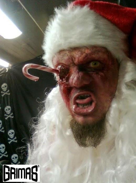 Horror-shop 2013 joulupukki: Ari Savonen. Efekti/tehoste-maskeeraus: Ari Savonen.