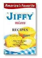 Brinde Gratis Livro de receitas da Jiffy
