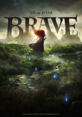 Cartel de Brave (Indomable), lo nuevo de Pixar