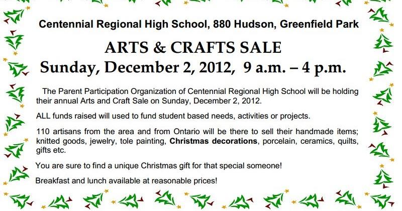 Centennial High School Craft Show