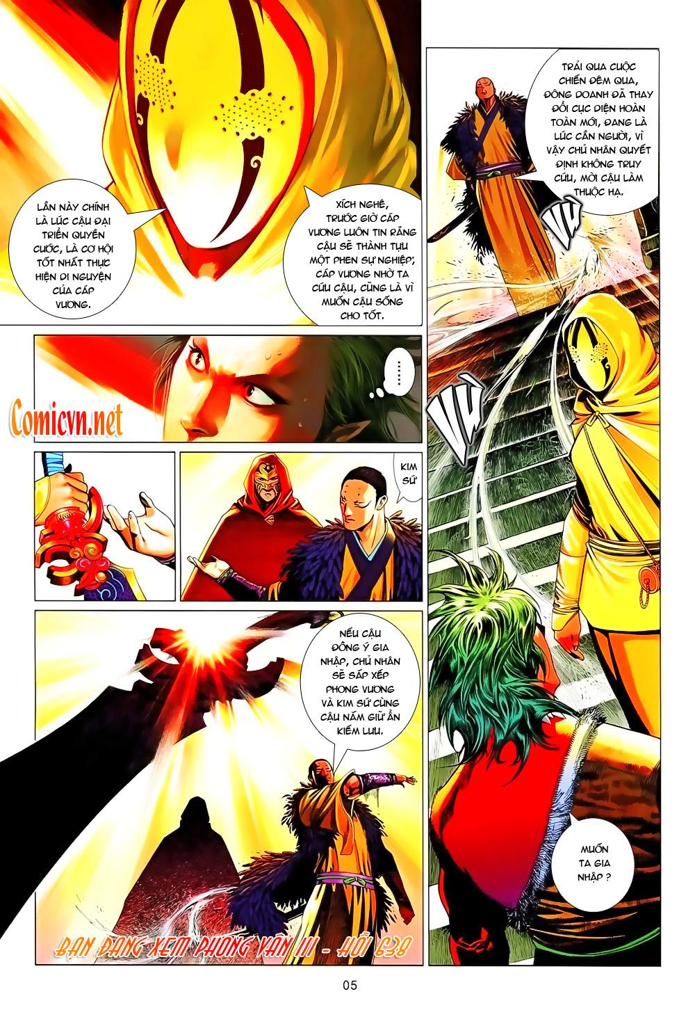 Phong Vân chap 638 Trang 4 - Mangak.info