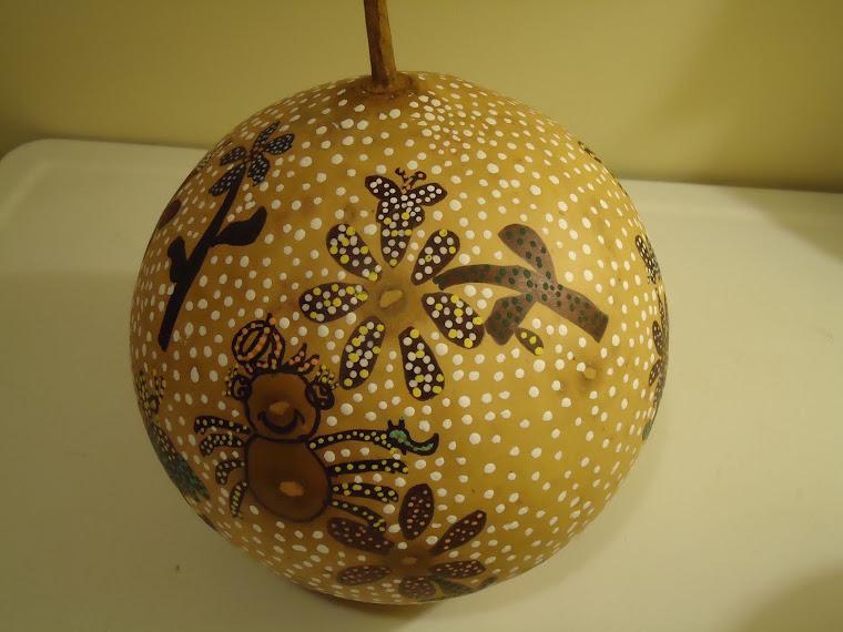 Miss Spider gourd!