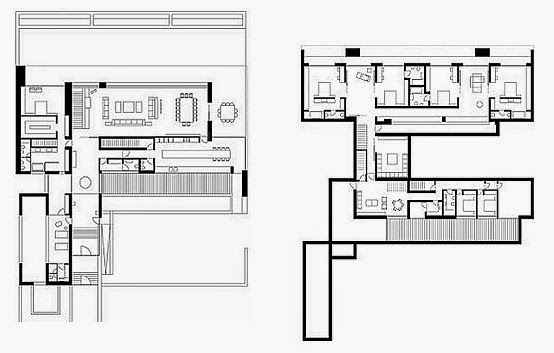 Planos casas modernas abril 2014 for Viviendas unifamiliares modernas