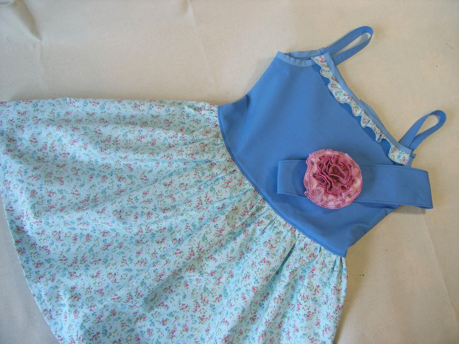 Детские платья сшить самим быстро и просто. Часть 1 78