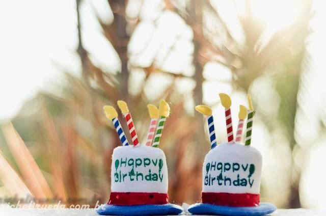 Smash the cake com gêmeos