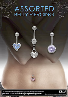 belly piercing rings