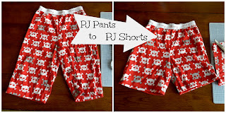 PJ Redo: Pants to Shorts