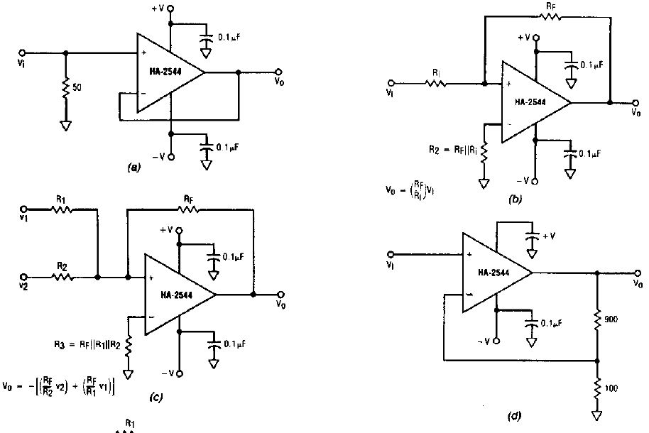 electronic circuits for beginners  various video amplifiers