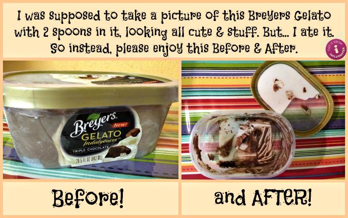 Breyers Gelato Indulgences Triple Chocolate