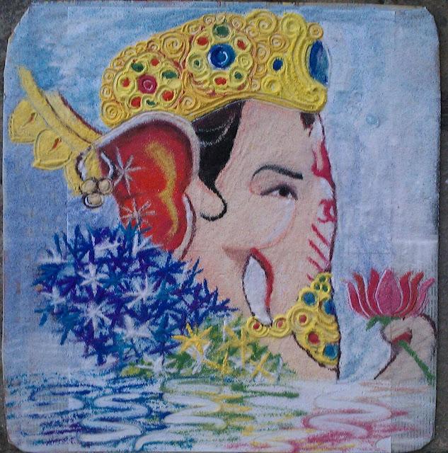 Dhanteras Rangoli Design 17