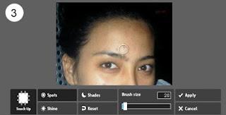 Bersihkan NodaJerawat Pada Foto