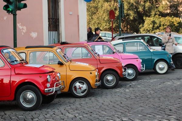 парковка в Риме