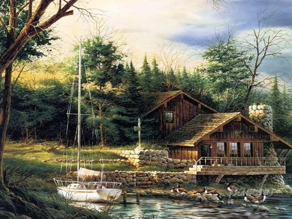 Terry Redlin Paintings Art Wallpaper