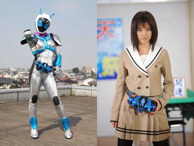 Erina Mano is Kamen Rider Nadeshiko