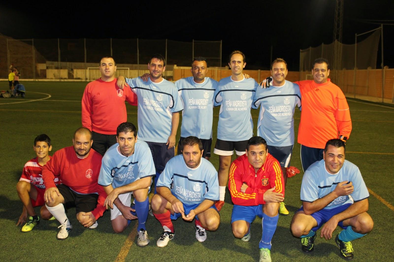 futbol veterano en almeria: