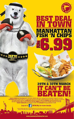 THE MANHATTAN FISH MARKET - Today LAST OFFER RM6.99 ONLY