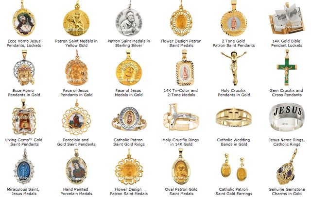 Patron Saints Jewelry