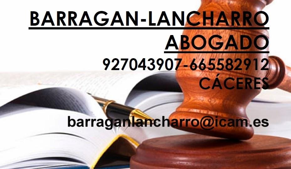 Barragán-Lancharro Abogados (Cáceres)