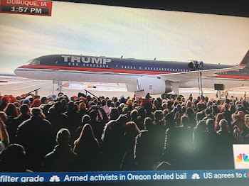 Donald Trump Arrives in Dubuque for Iowa Push
