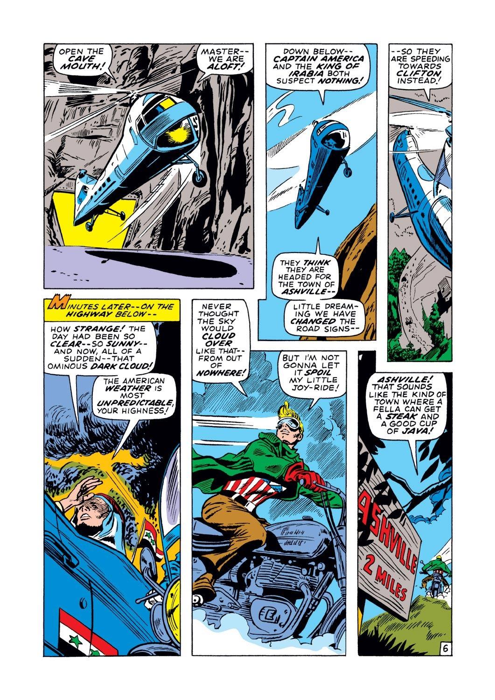 Captain America (1968) Issue #129 #43 - English 7