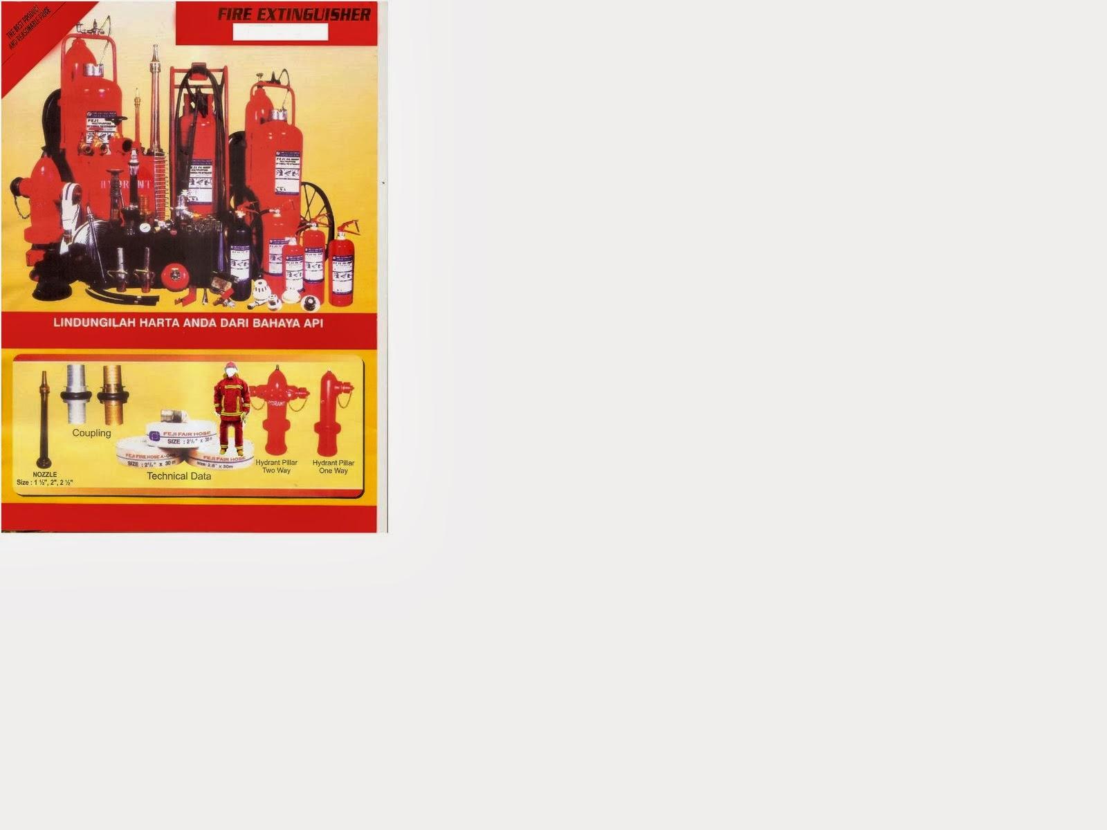 Dijual alat pemadam kebakaran ( Fire extinguishers )