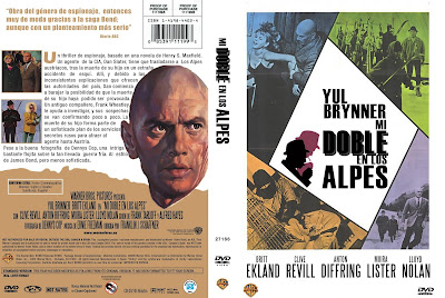 Cover, dvd, carátula: Mi doble en Los Alpes | 1967 | The Double Man