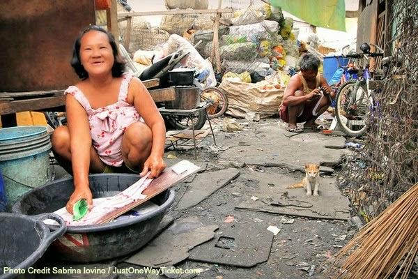 slums of manila philippines