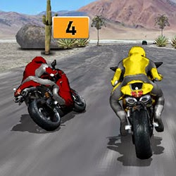 Şehirde Motor Yarışı