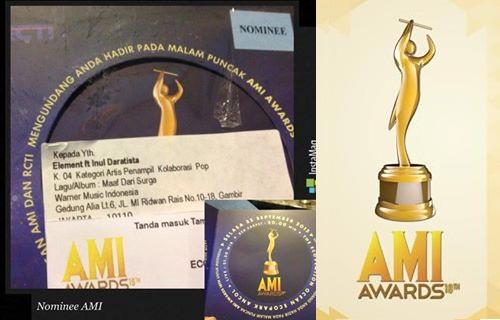 Daftar Lengkap Juara AMI ( Anugerah Musik Indonesia ) 2015 RCTI