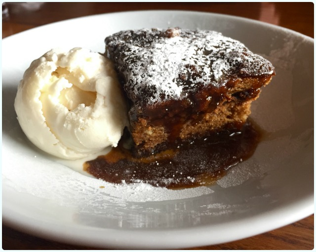 The Boathouse - Sticky Toffee Pudding
